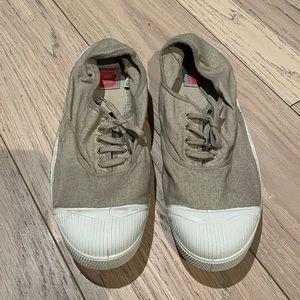 Bensimon Tennis Sneakers in Eggshell